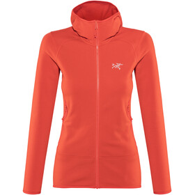 Arc'teryx Kyanite Hoody Women Hard Coral